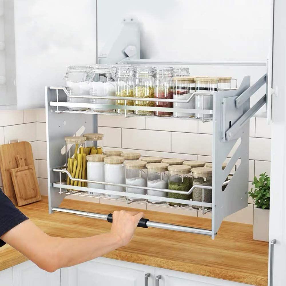 Pull Down Kitchen Shelves Google Search In 2020 Kitchen Shelves Upper Kitchen Cabinets Upper Cabinets