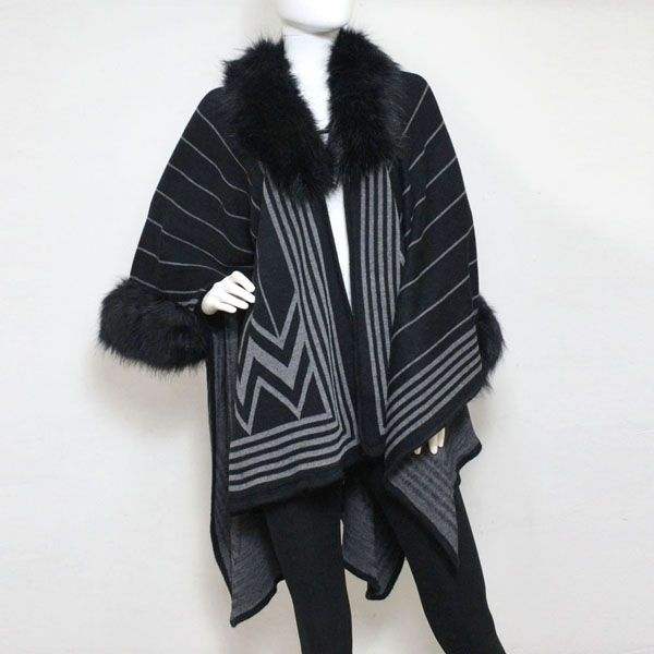 fd88cce4e Be the belle of the ball in this gorgeous cape! The Fur Trimmed Wrap Shawl  Cape is almost sold out...See all Ubranded capes and outerwear on Tradesy