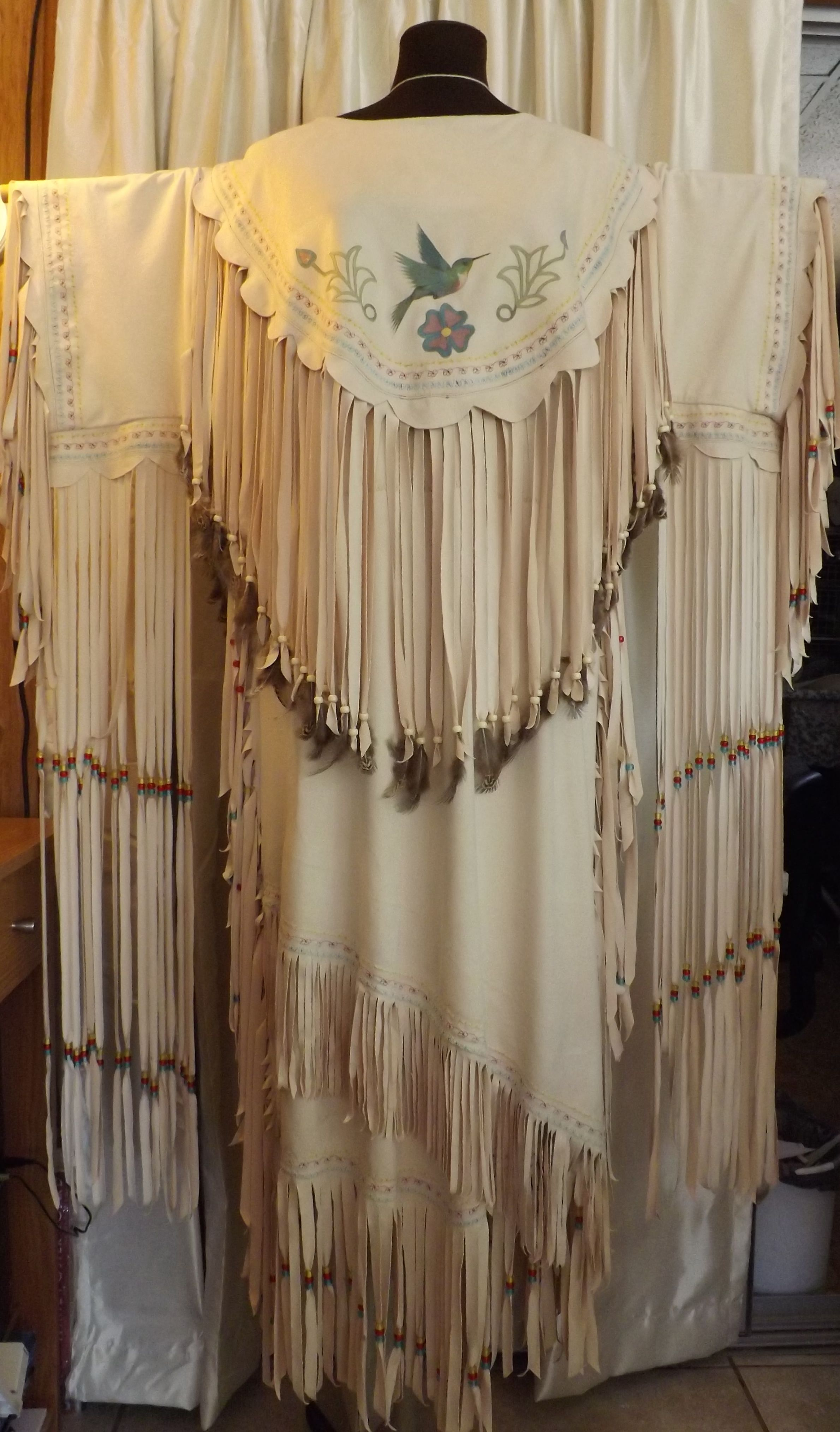 A wedding dress for a special lady spirit of native america