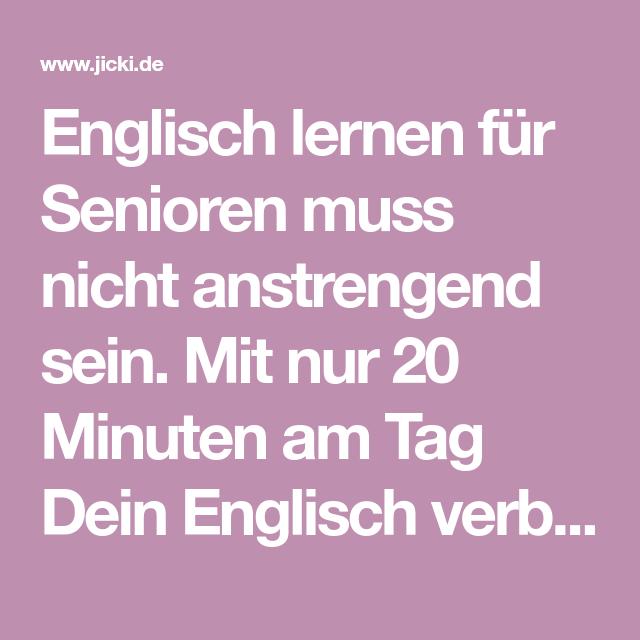 Anstrengend Auf Englisch