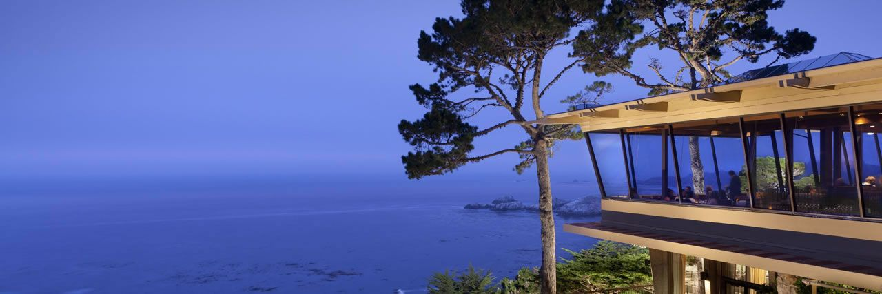 Pacific S Edge The Best Dining Table Overlooking Coast At Hyatt Carmel Highlands Sur