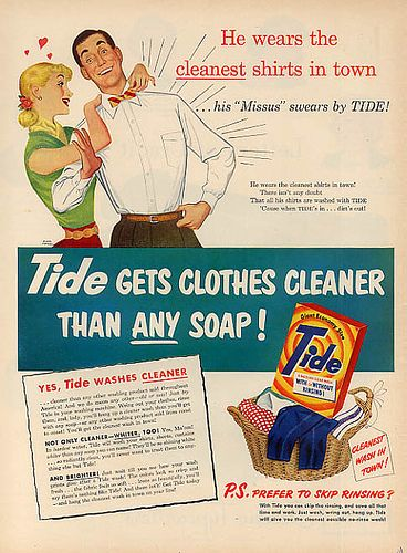 Vintage Ads 1950s Vintage Ads Tide Detergent 1950s Vintage Advertisements Vintage Ads Retro Advertising
