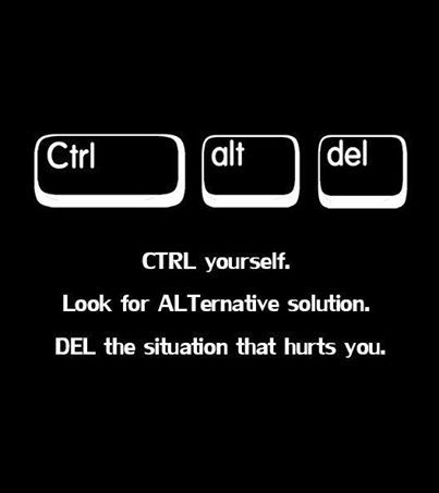 Ctrl Alt Del poster | Counseling and Teaching Ideas | High