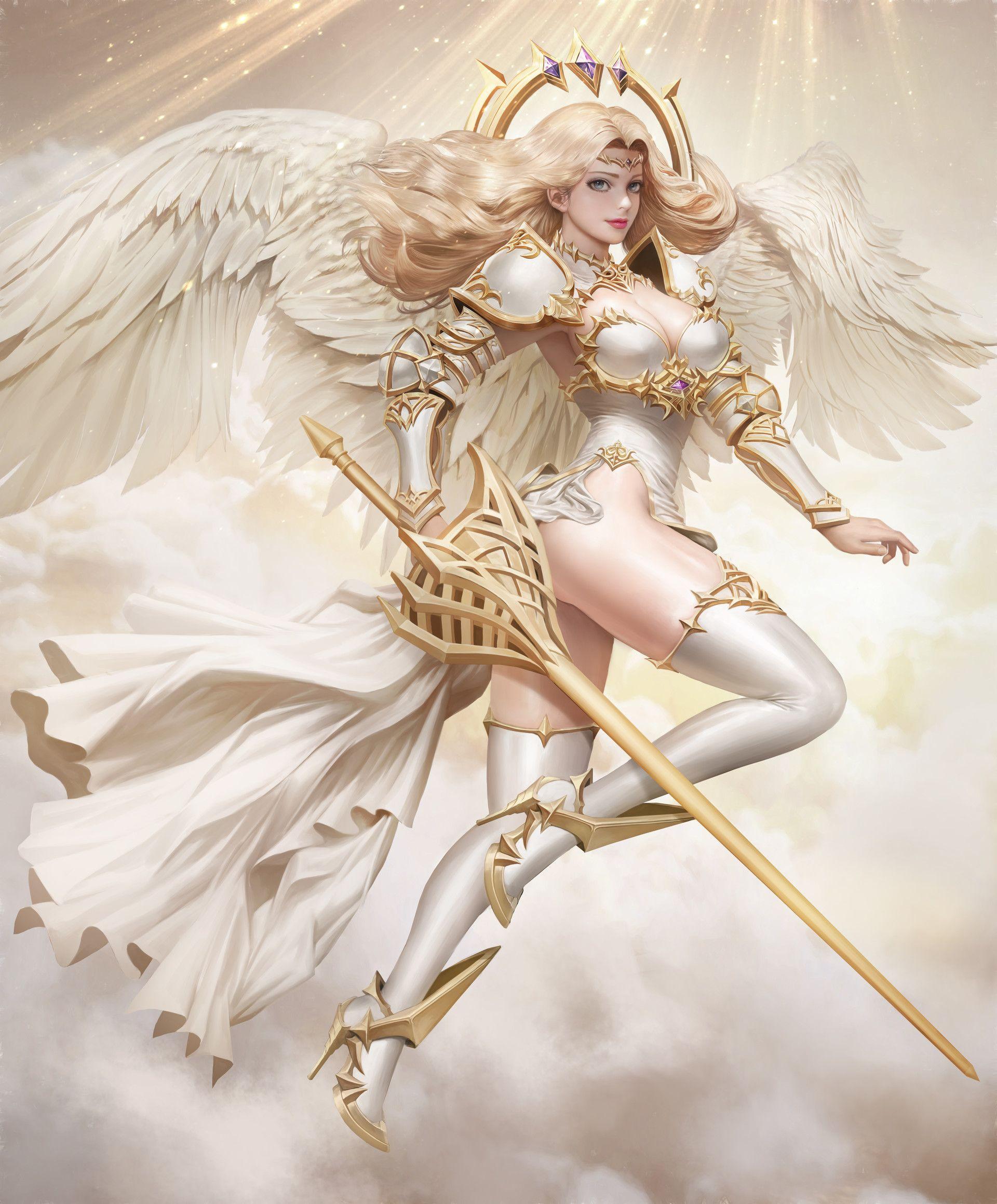 Ангелы картинки боевые