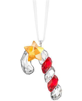 Swarovski Christmas Ornament Sparkling Candy Cane  xmas