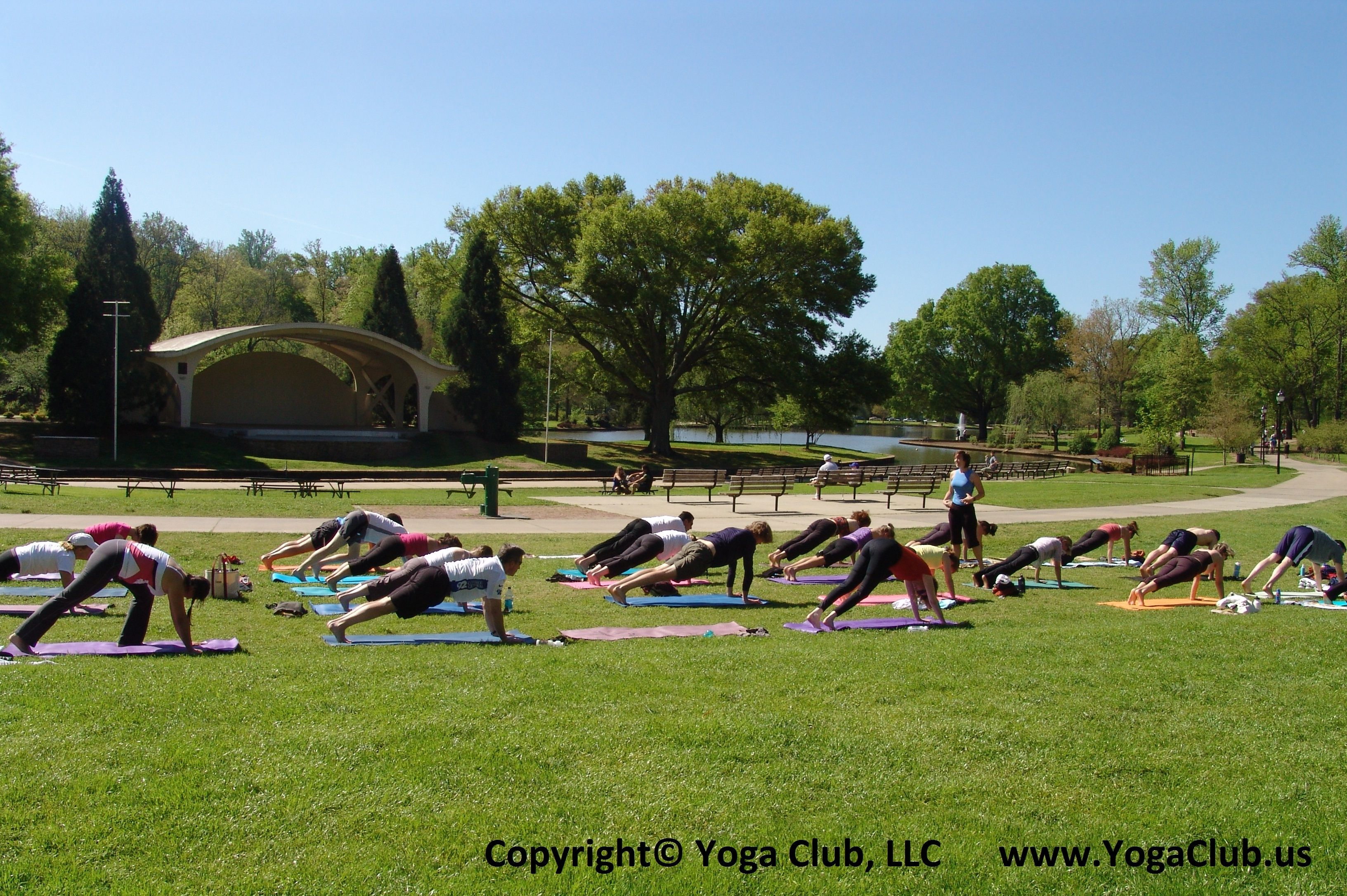 Charlotte Yoga Club Outdoor Yoga In Freedom Park Www Yogaclub Us Yoga Club Outdoor Yoga Yoga