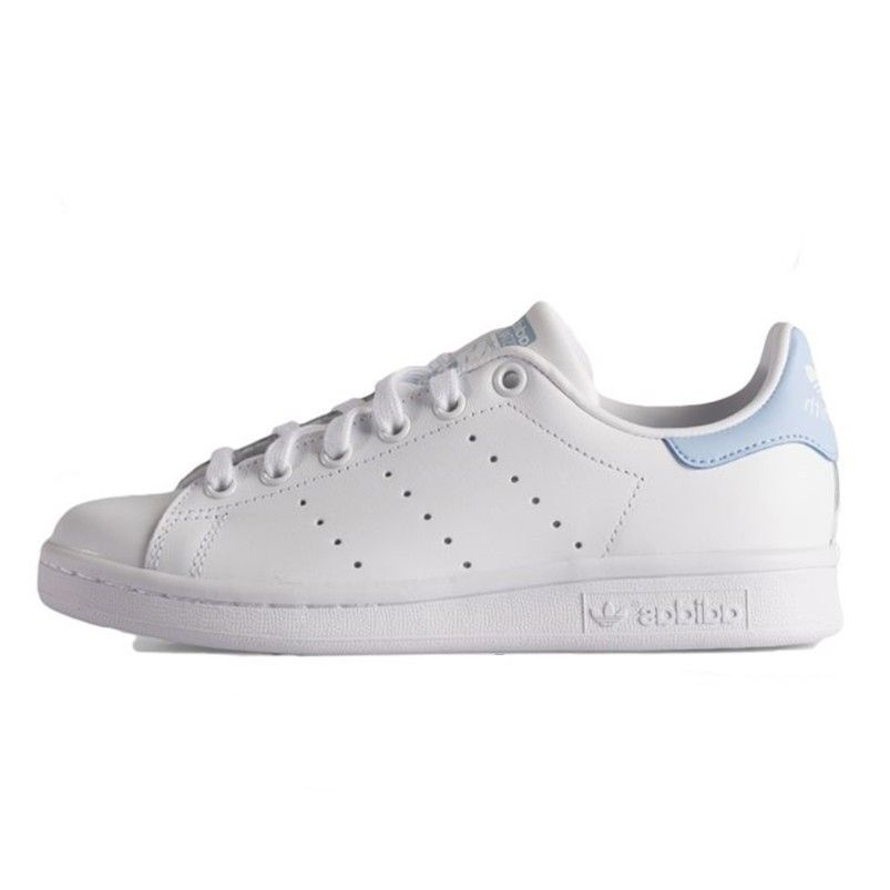 adidas stan smith blanc bleu homme