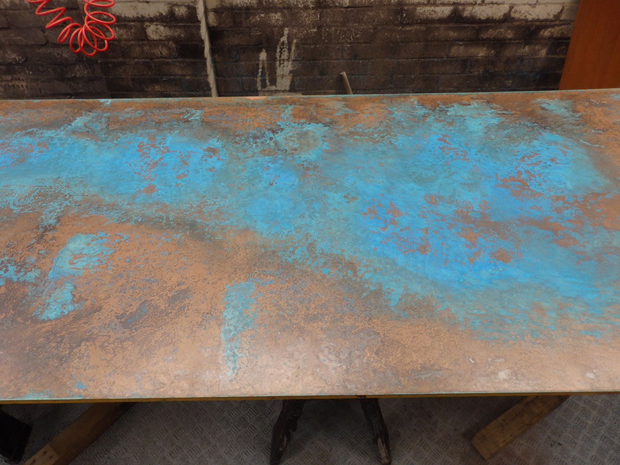 142 Patina Copper Sheet Blue 60 Copper Sheets Copper Patina Blue And Copper