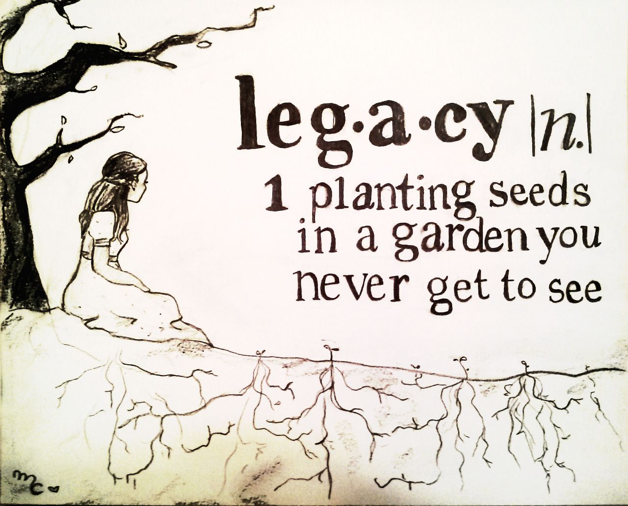 What Is A Legacy Planting Seeds In A Garden You Never Get To See