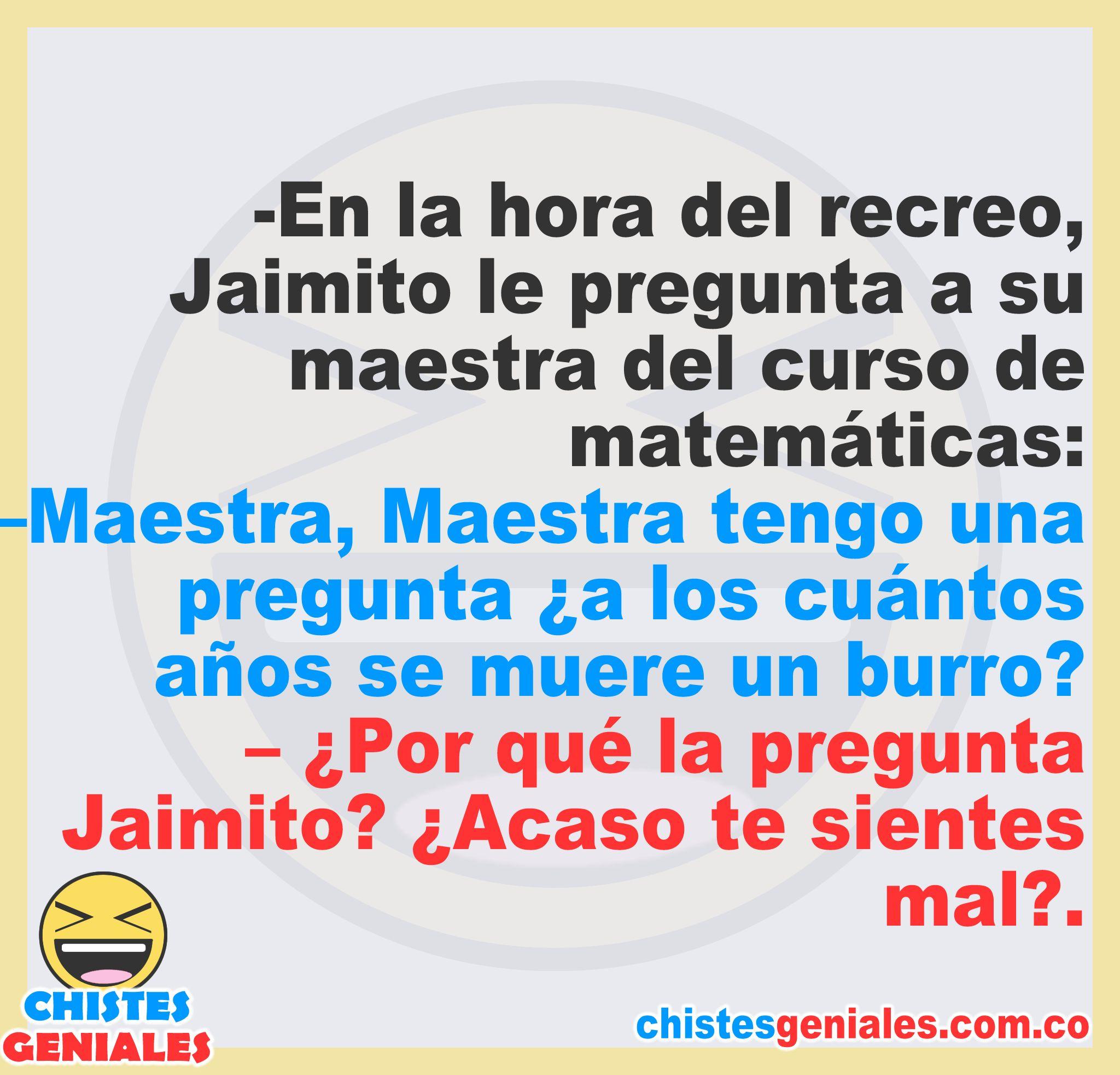 Pin En Chistes De Jaimito