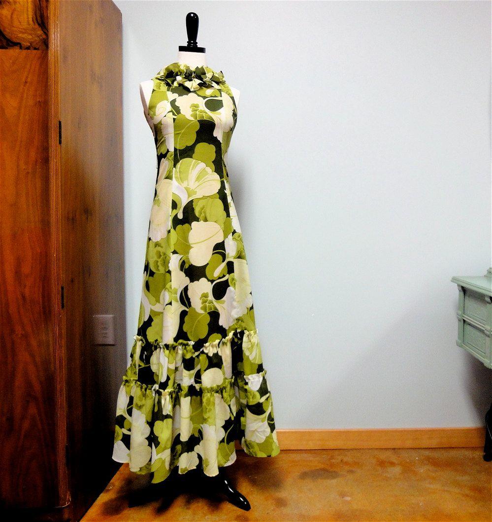 Long muumuu dresses hawaii