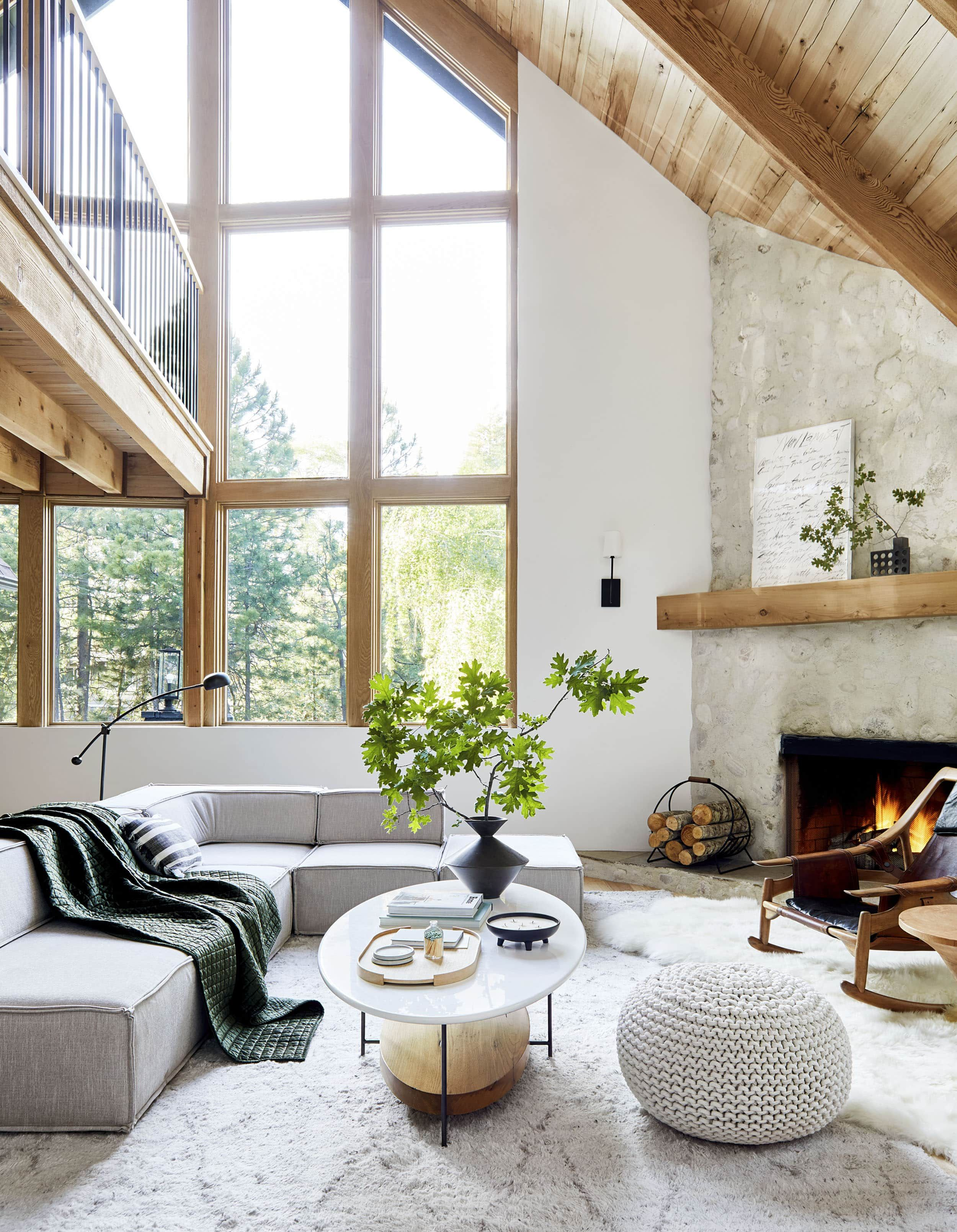 How to Design a Quiet, Neutral Yet Exciting Living Room