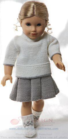 Puppenkleider Selber Stricken Puppenkleidung Pinte