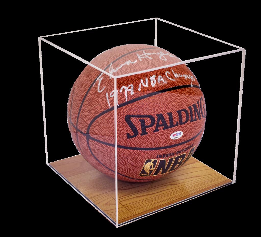Acrylic Basketball Display Case W Wood Floor A008 B02 Acrylic Display Case Display Case Black Acrylic Sheet