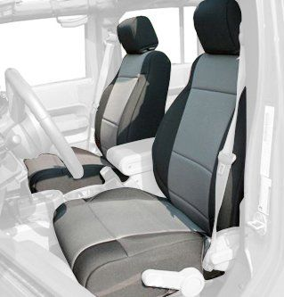 Light Grey Monarch Insert with Classic Trim CalTrend Front Row Bucket Custom Fit Seat Cover for Select Chevrolet//GMC Models O.E Velour