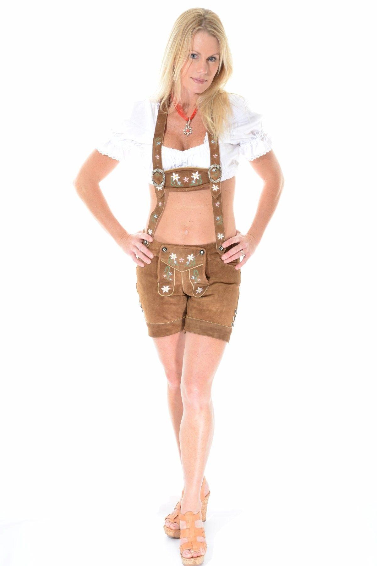 Womens Lederhosen | Female Lederhosen | Female Lederhosen Costume