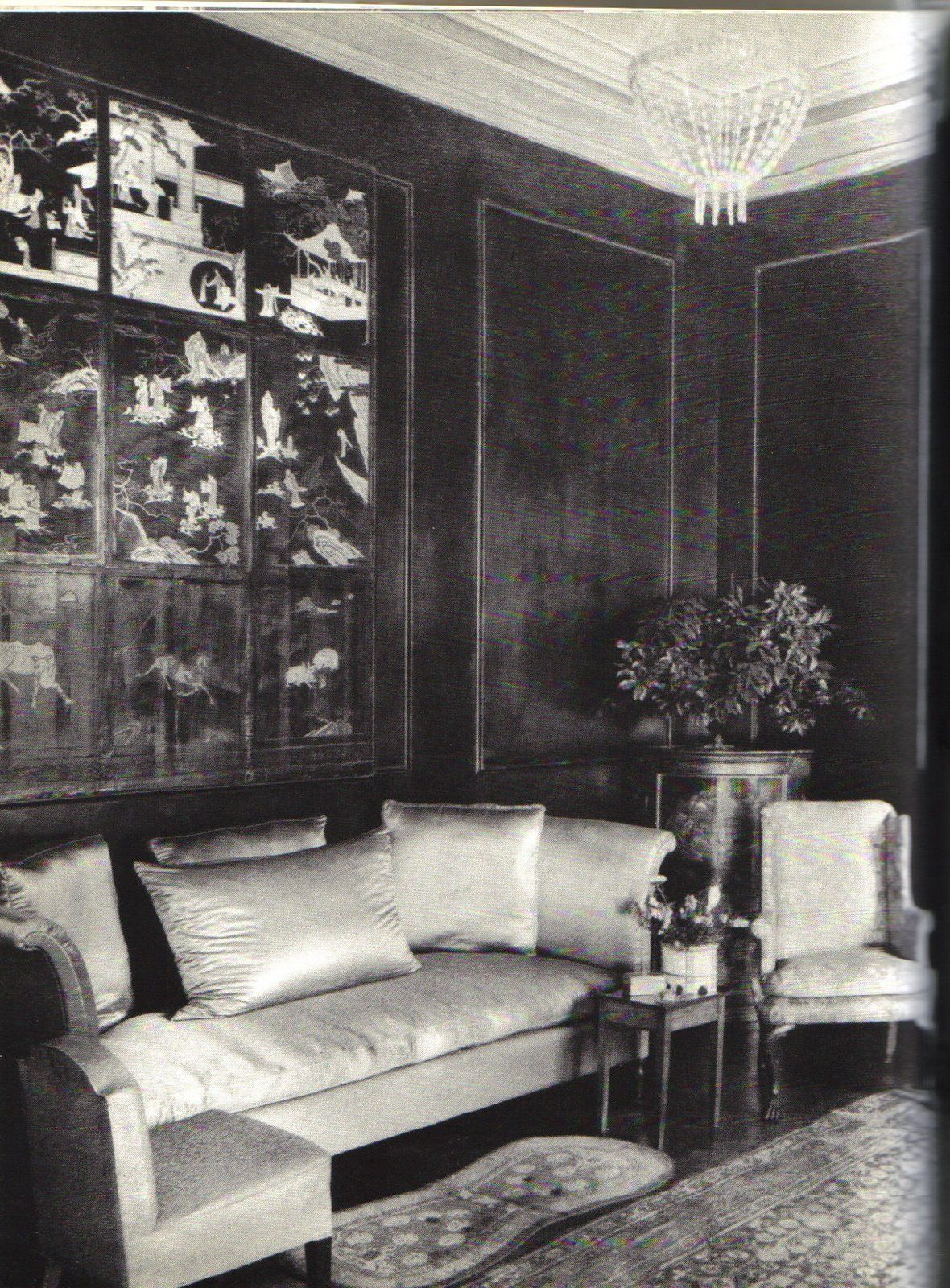 A Coromandel Lacquered Room At Mallow Designed By Mrs Walter
