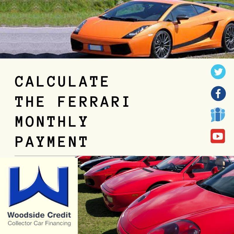 Ferrari Car Loans and Financing Ferrari, Ferrari car
