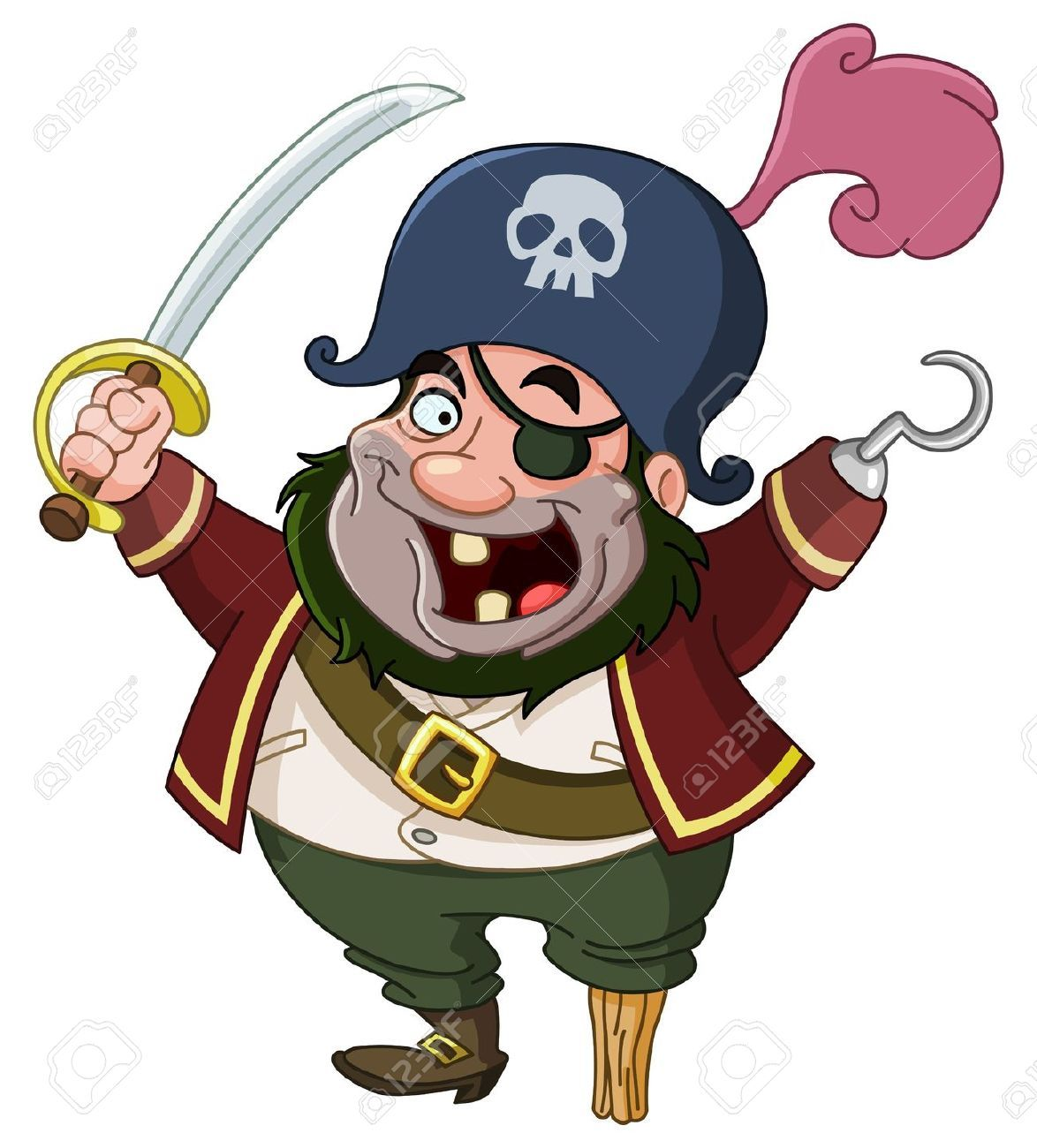 dibujo color pirata - Buscar con Google | CUENTO | Pinterest ...