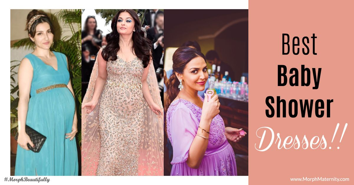Best Bollywood Baby Shower Dresses And Themes To Go With Them