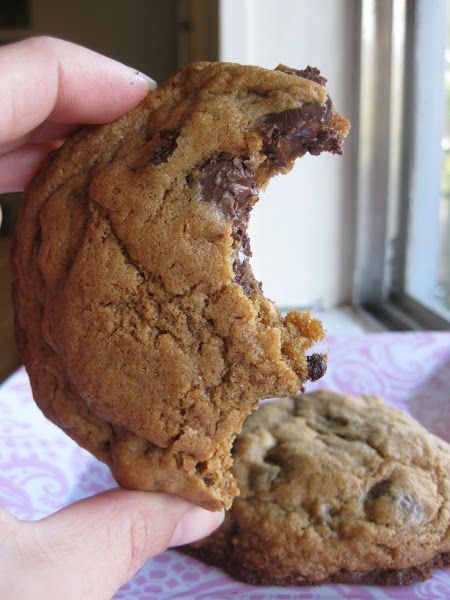 The Ultimate Chewy Chocolate Chip Cookie with coconut oil! I use white whole wheat flour.