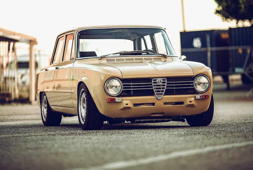 this gorgeous one of a kind alfa romeo restomod could be yours alfa romeo giulia alfa romeo classic cars alfa romeo giulia alfa romeo classic cars