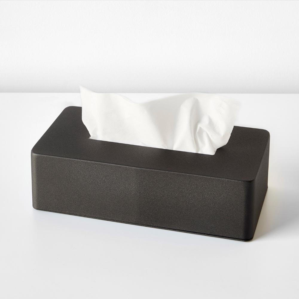 Tower Black Tissue Case Tissue Case Tissue Box Covers Tissue Boxes