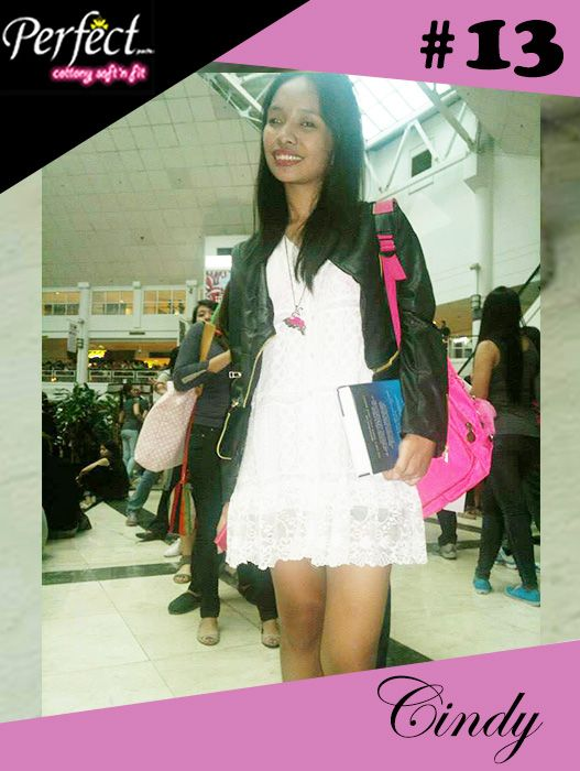 Cindy Alimorong #PerfectPads #OOTD Entry