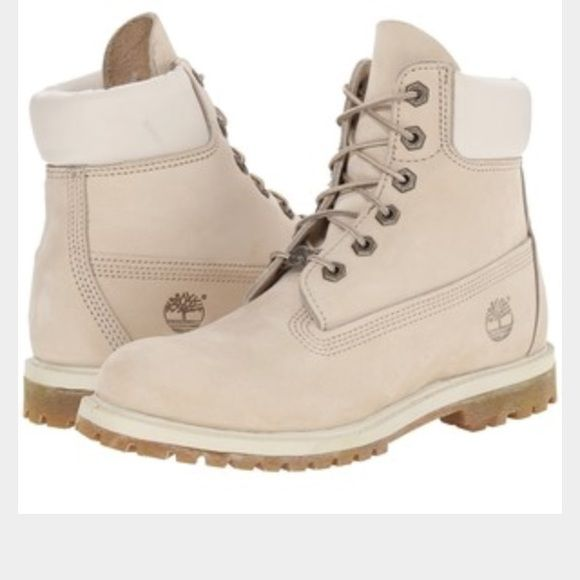 Timberlands Cream Colored Timberland Shoes | My Posh Picks ...