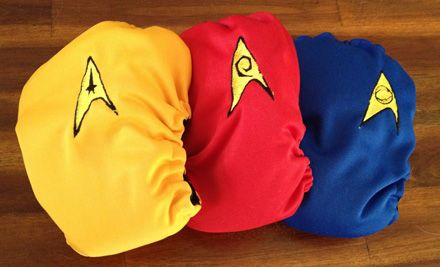Star Trek diapers