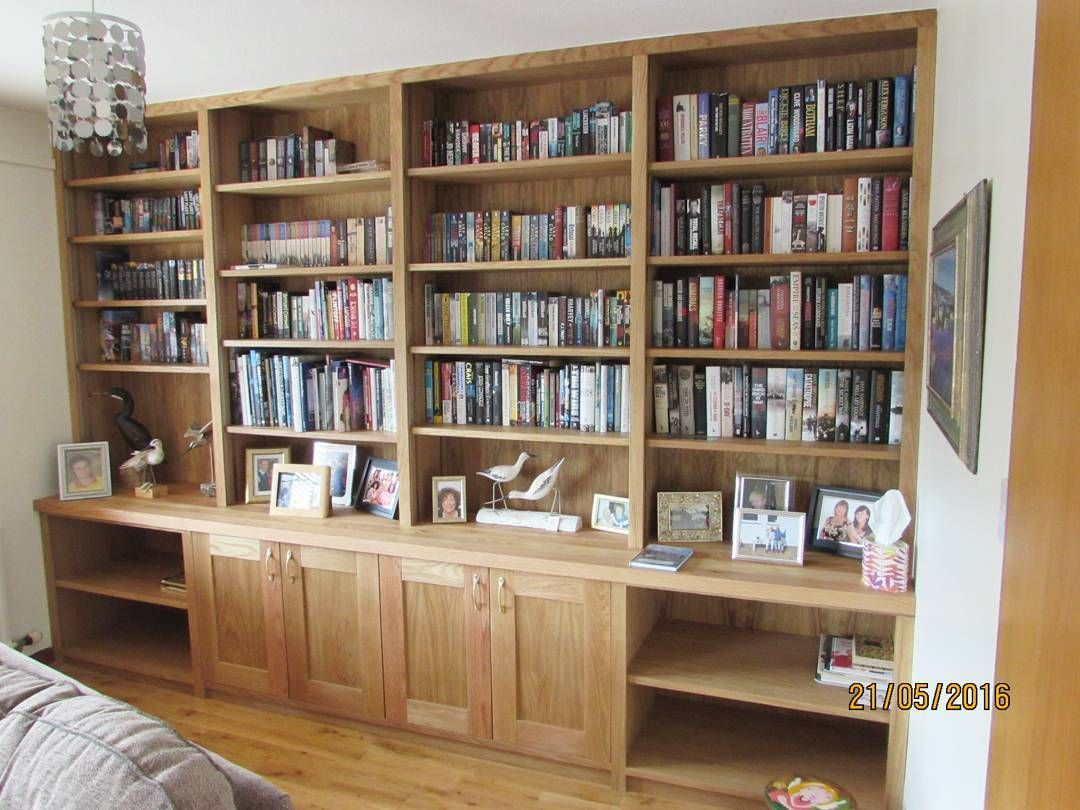 Bespoke Oak Bookcase From Earlier This Year Joinery Design Build