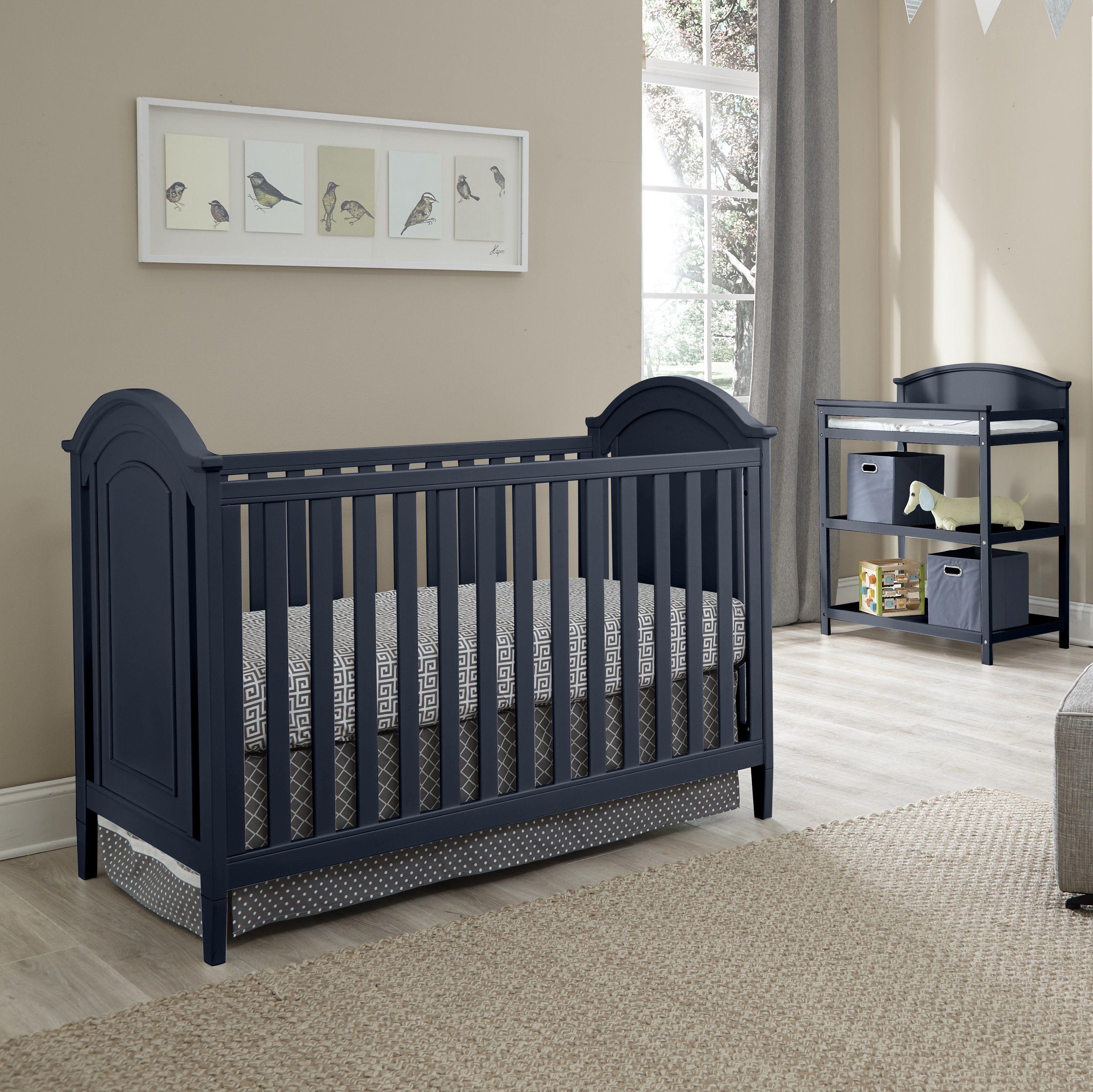 Emile 3 In 1 Convertible 3 Piece Crib Set Crib Sets Cribs Nursery Furniture Sets 3 piece crib set furniture