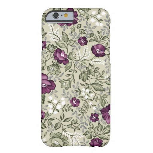 #technologyforher Purple Floral iPhone 6 case