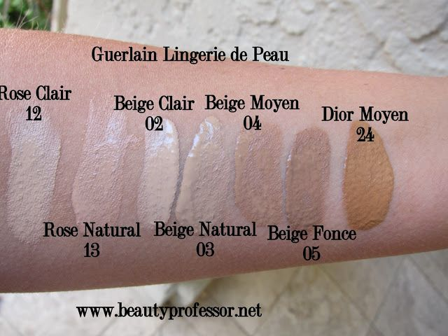 Lingerie De Peau Natural Perfection Foundation by Guerlain #20
