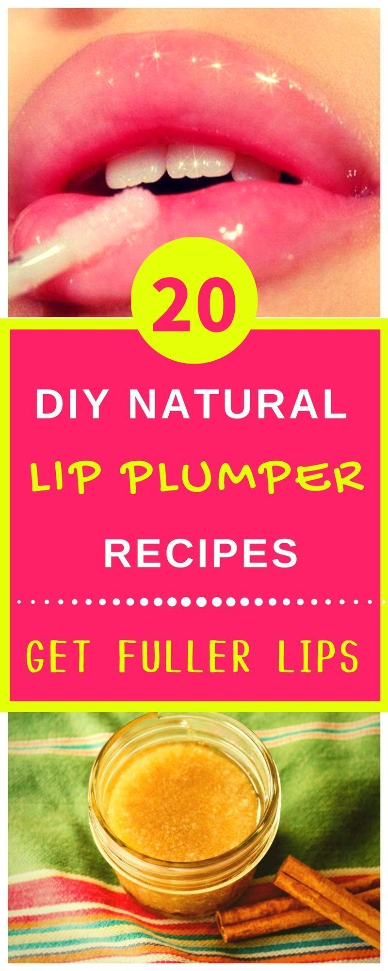 20 trustworthy natural diy lip plumper recipes for fuller