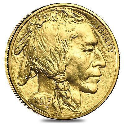 2017 1 Oz Gold American Buffalo 50 Coin Bu Golden Eagle Coins Silver Bullion Eagle Coin