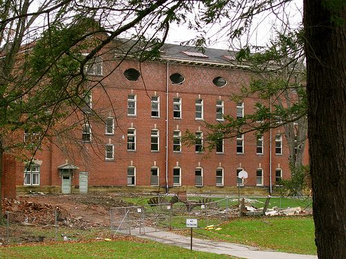 The Demolition Of Mount De Chantal Visitation Academy Wheeling Wv Wheeling West Virginia Wheeling Wv West Virginia