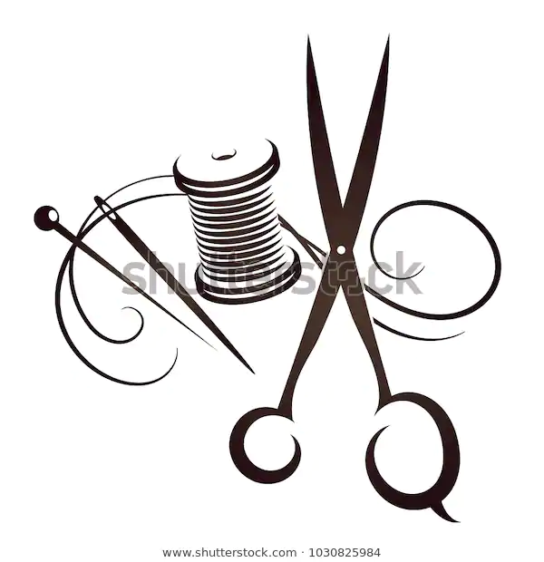 Find Scissors Needle Thread Set Sewing Stock Images In Hd And Millions Of Other Royalty Free Stock Photos Illustrati Free Vector Art Stock Illustration Sewing