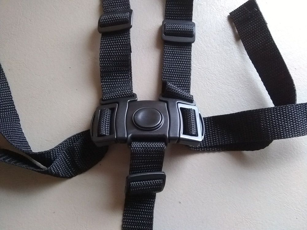 New Graco High Chair Seat Belt Strap 5 Pt Harness Replacement