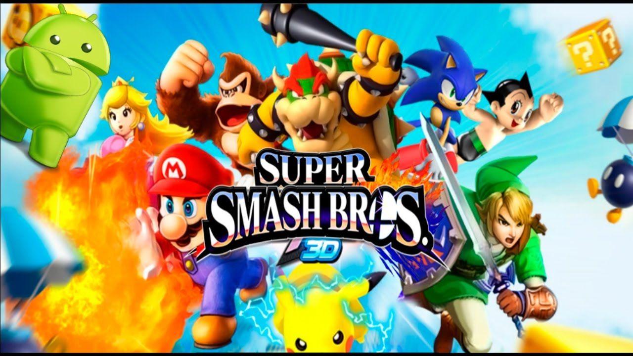 El Mejor Epico Juego De Super Smash Bros 3d Para Android Apk