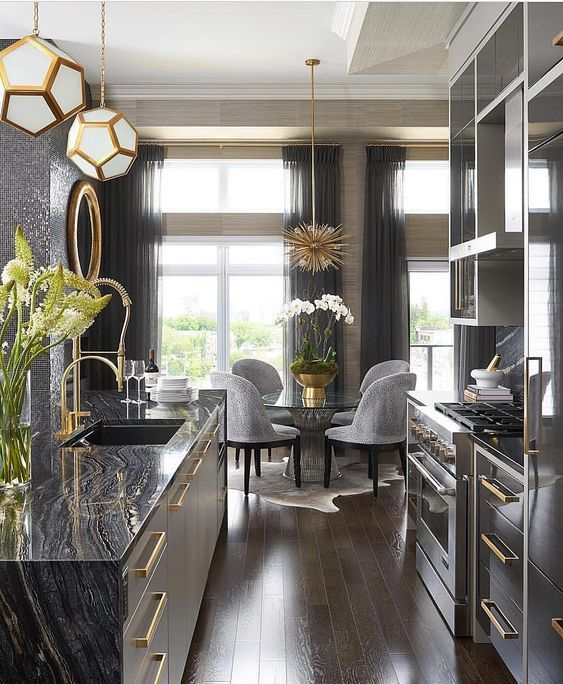 Subtle yet striking: Metallics and how to Style them | Studio 52 Interiors