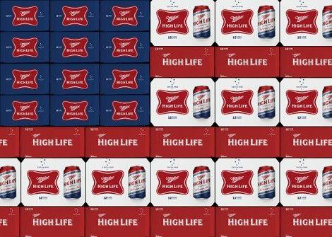 Miller High Life Veterans Cans
