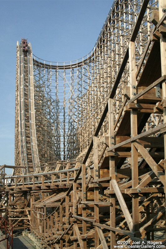Third Tallest Wooden Coaster In The World Coasters And Trains In