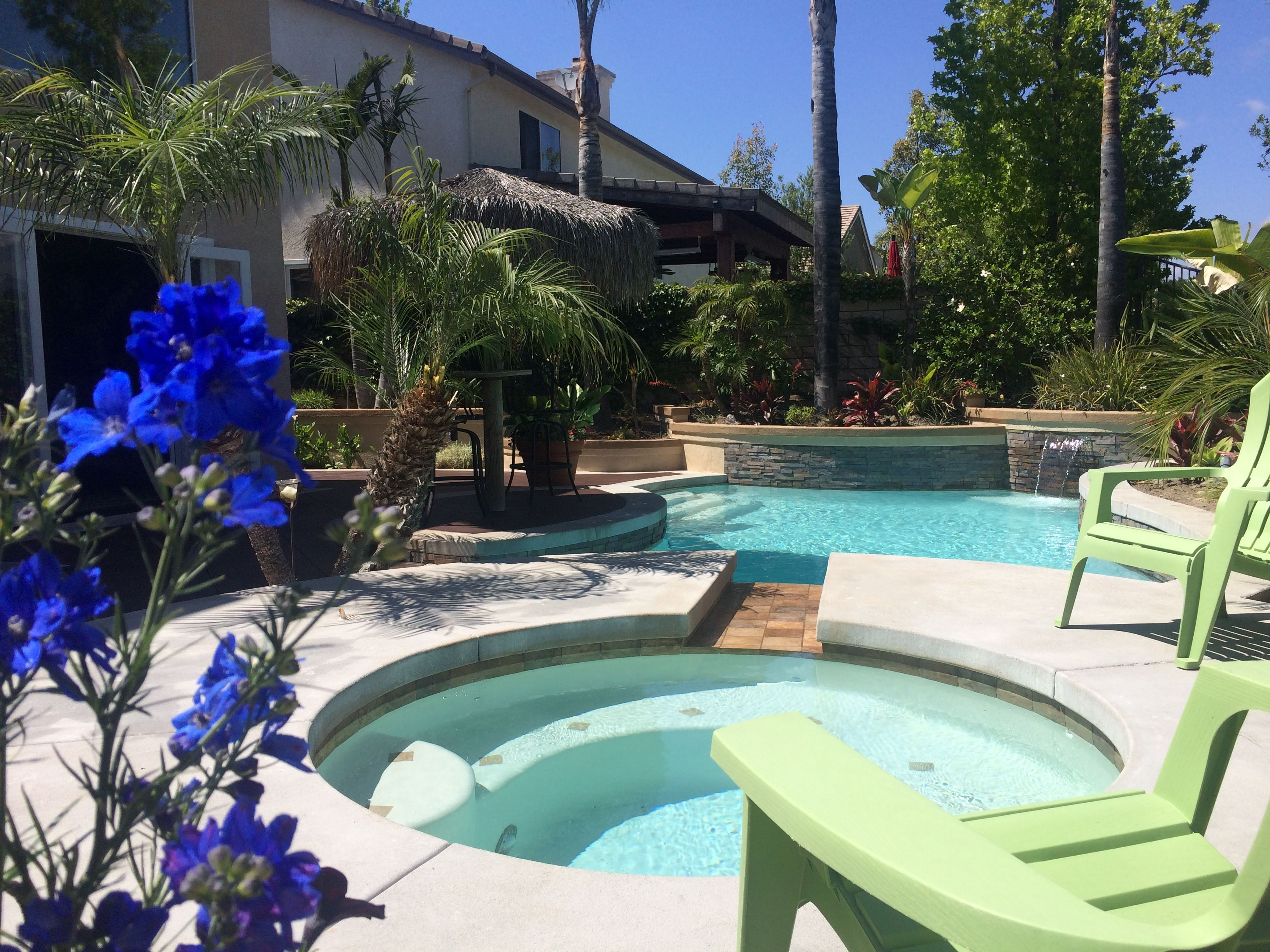 Entertain, Relax, Exercise, and ENJOY all the benefits of owning a home with a pool! There's also a community pool and spa!  For more info or for a private tour, call or text Tracey @ 949-842-3655.