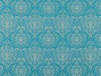 Boheme Teal | Xanthina | Jacquard Weave | Black Edition | Designer Fabrics & Wallcoverings, Upholstery Fabrics