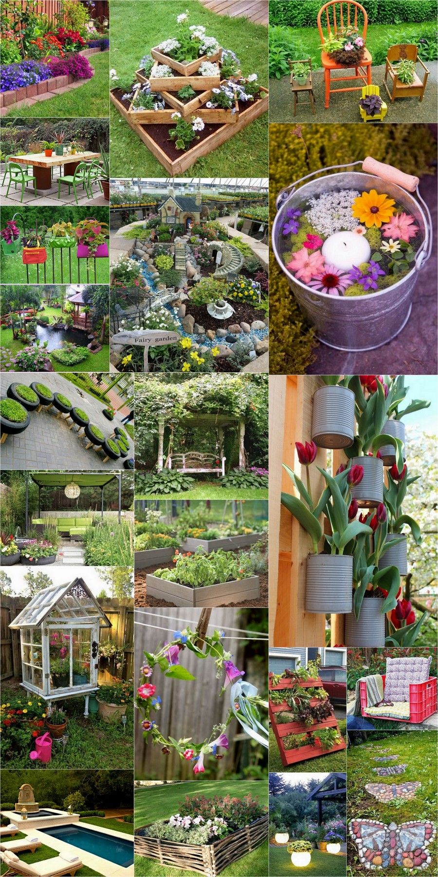 Gardening Is Regarded As The Healthiest Hobby One Could Have It Cultivates Positive Energy In You And Your Surroun Diy Gartendekoration Diy Garten Gartendekor