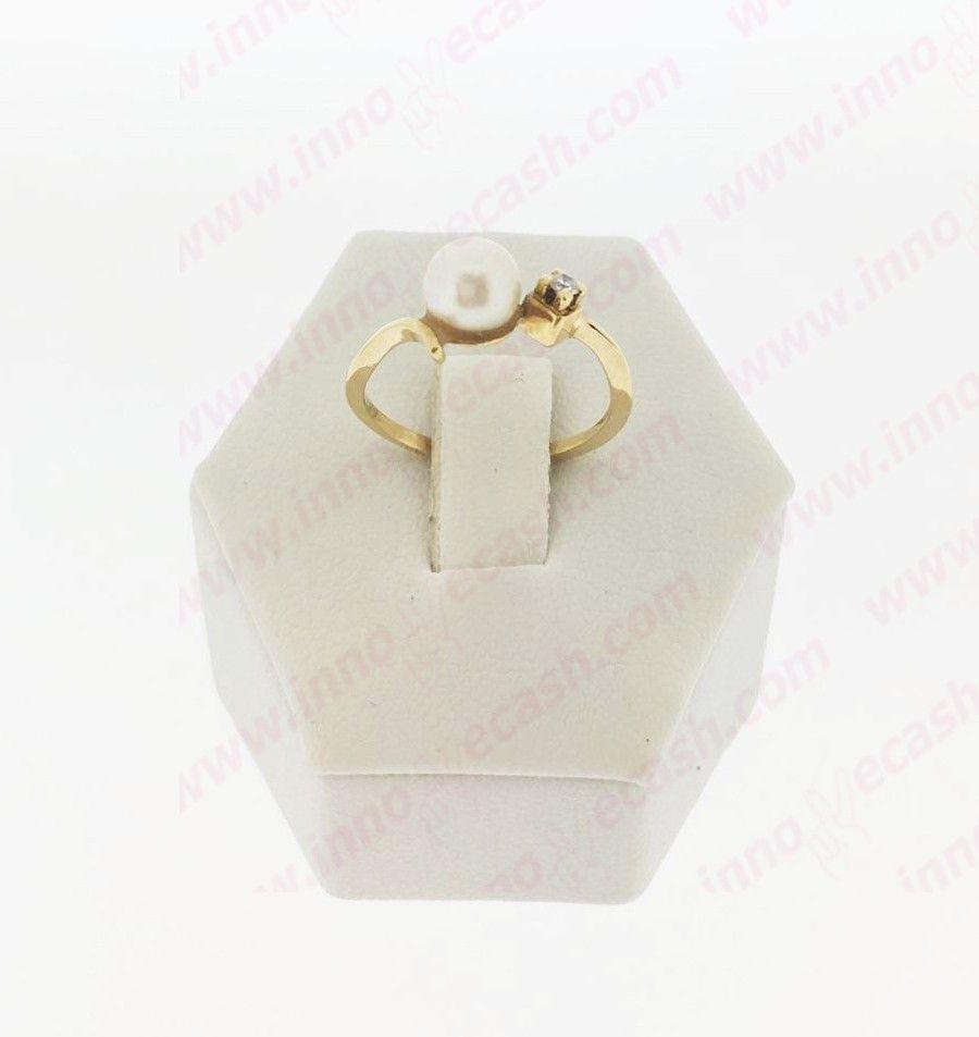Anillo de oro de 18 quilates de segunda mano http www