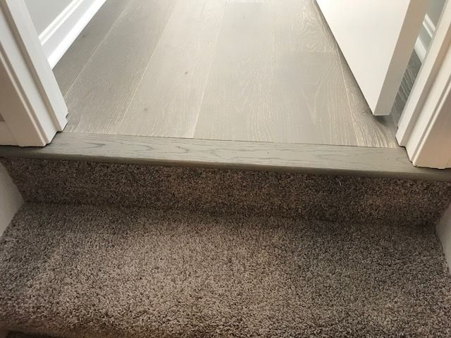 Best Engineered Hardwood To Carpet On Stairs With Images 400 x 300