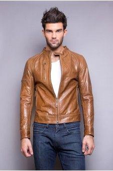 Découvrez la collection de blouson cuir et veste en cuir sur http   www 548a0b7ed73