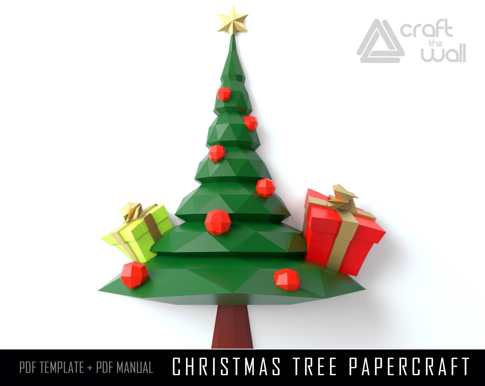 Pin On Lowpoly Christmas Gift Handmade Origami